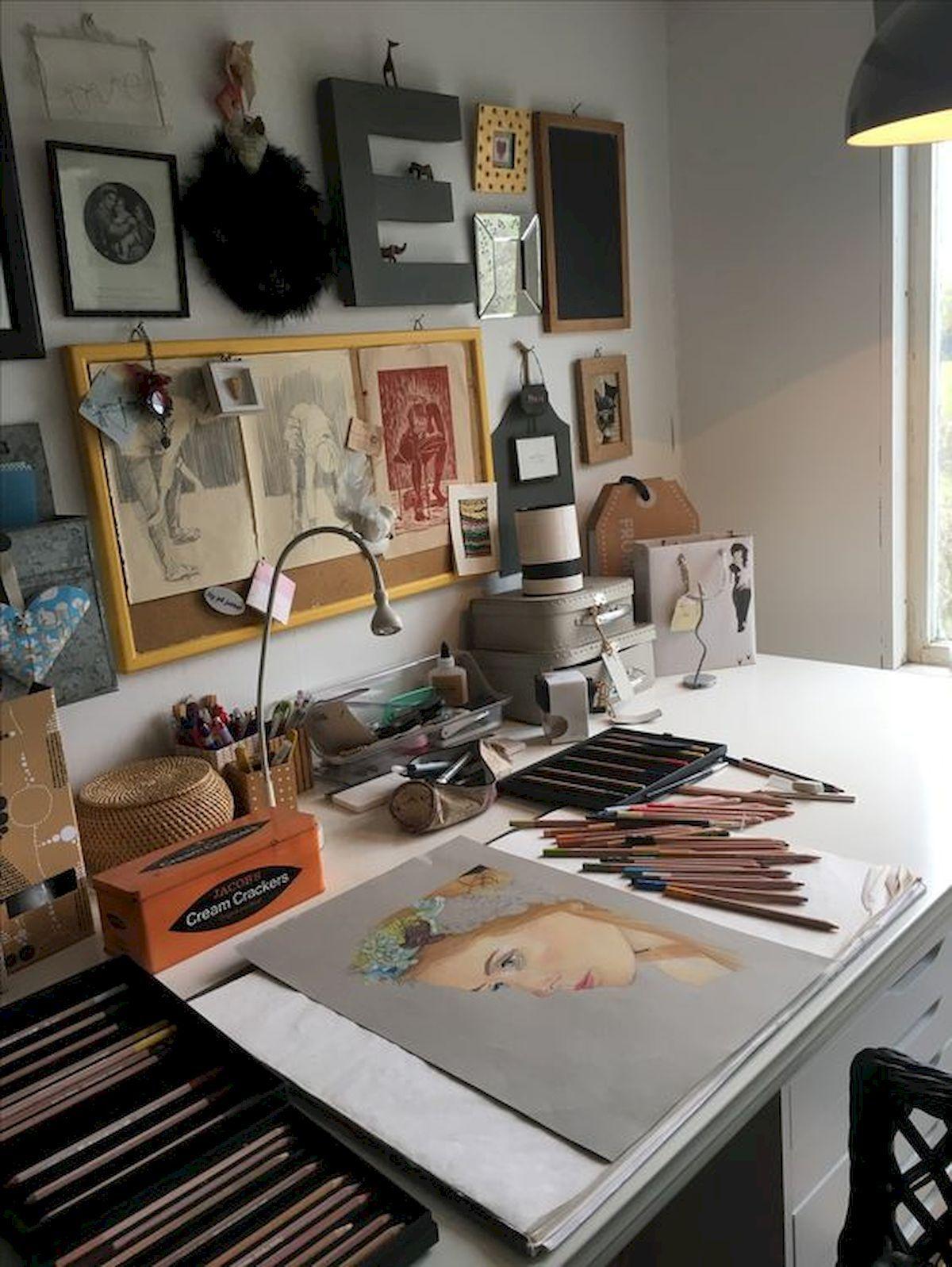 70 Favorite Diy Art Studio Small Spaces Ideas Art Studio