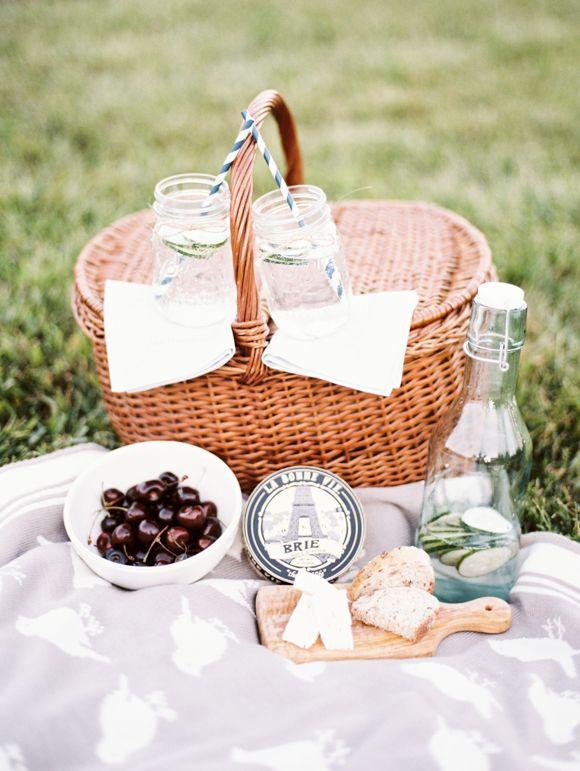 Romantische Picknickkorb Ideen