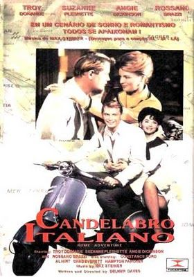 Candelabro Italiano Rome Adventure 1962 Rome Adventure Cinema Movies