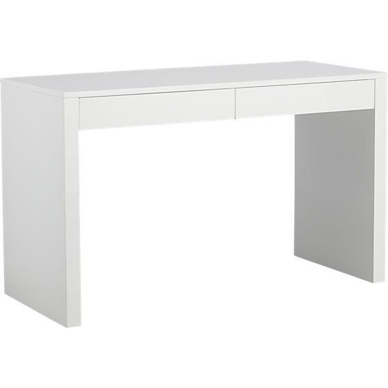 Runway White Lacquer Desk Reviews Cb2 White Lacquer Desk Lacquer Desk Desk