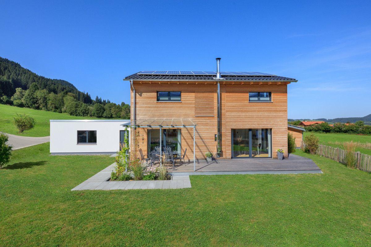 Holzhaus Schneider von Baufritz Fertighaus mit