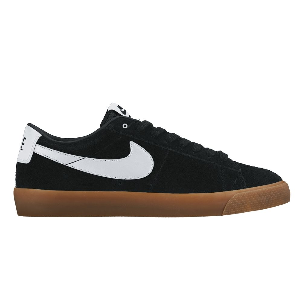 factory authentic 70a57 296c5 Nike SB Blazer Low  Grant Taylor  (Black White-Metallic Gold)