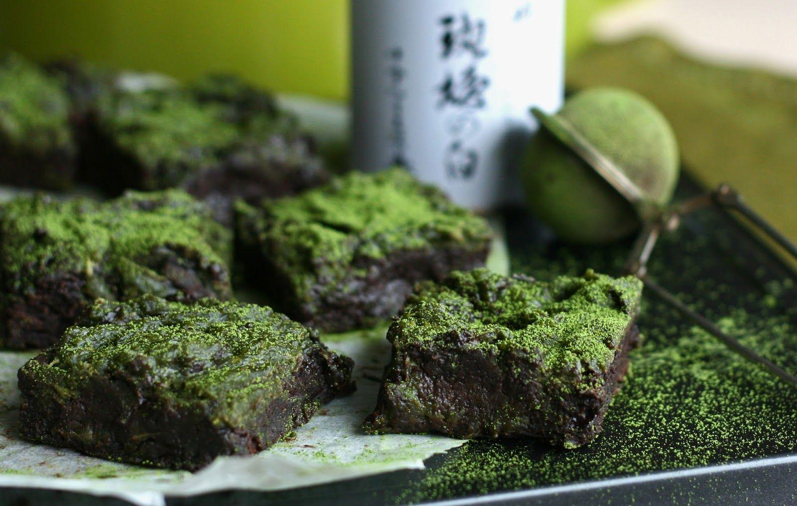 Maikin mokomin: Kesäkurpitsa-matcha-brownies + seuraa blogia Instagramissa!