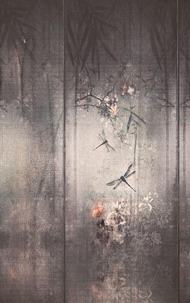 carta da parati per l 39 arredo contemporaneo wall dec. Black Bedroom Furniture Sets. Home Design Ideas