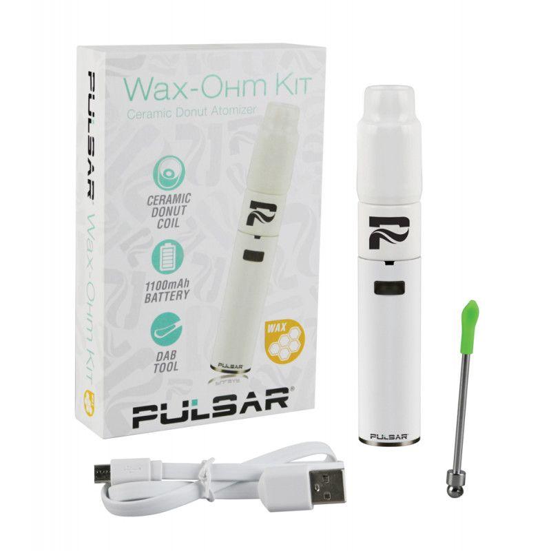 Pulsar Wax Ohm Ceramic Donut Atomizer Tank Pen Kits Ceramics Wax