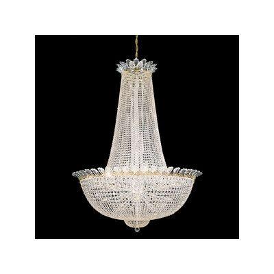 schonbek roman empire fifty eight light chandelier wayfair uk