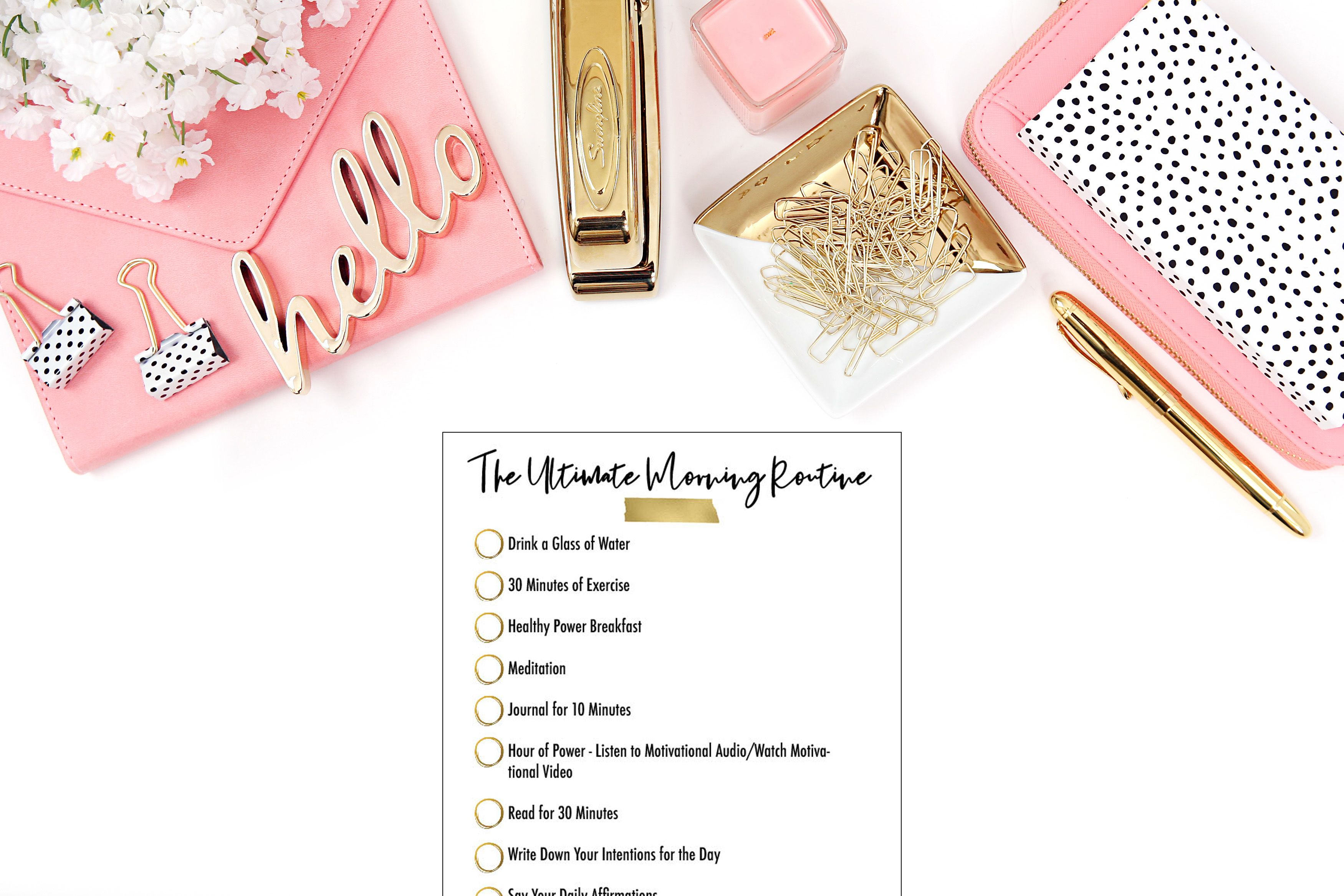 The Ultimate Morning Routine Morning Routine Worksheet