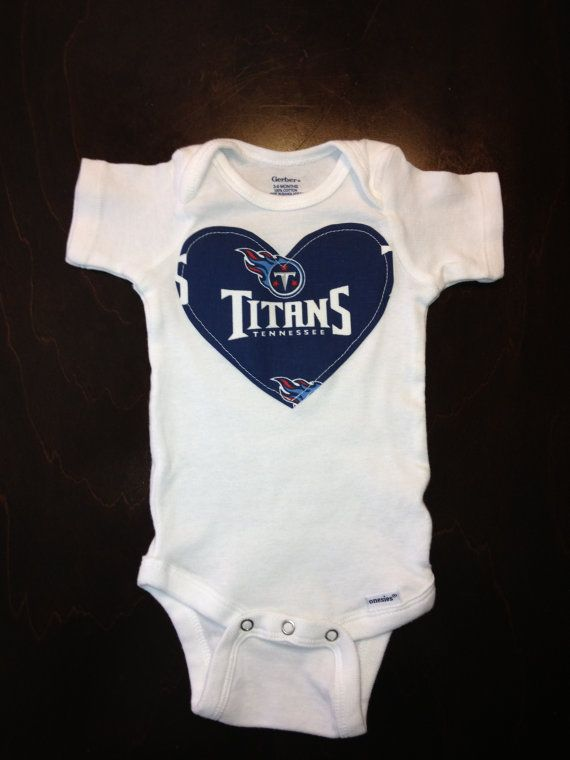 b2d6d825 Tennessee Titans Girls Onesie by BebeSucreOnline on Etsy, $15.00 ...