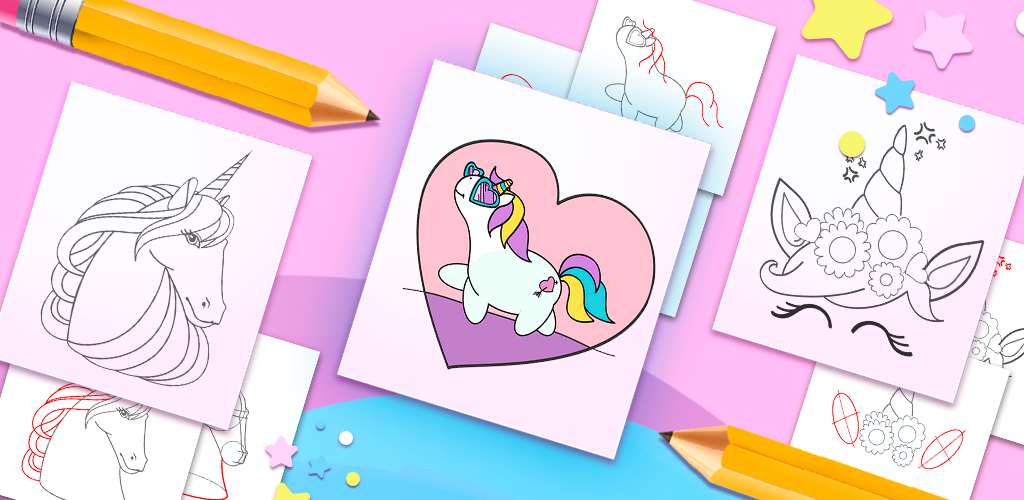 Gambar Kepala Unicorn Untuk Mewarnai How To Draw Unicorns Aplikasi Di Google Play Download Koleksi Sketsa Gambar Kepala Menggambar Kepala Gambar Unicorn