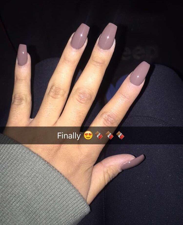 For fall! | Pretty nails | Pinterest | Acrylics, Makeup and Nail nail