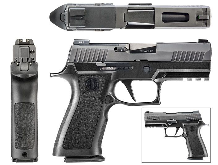 SIG's new EDC pistol, the P320 X-Carry, was prepped on the