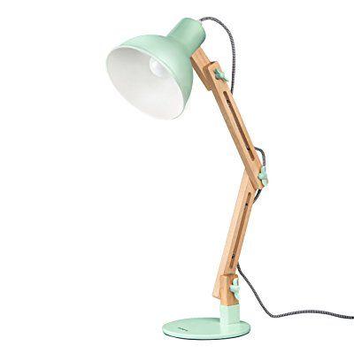 Tomons Leselampe Im Klassichen Holz Design Schreibtischlampe