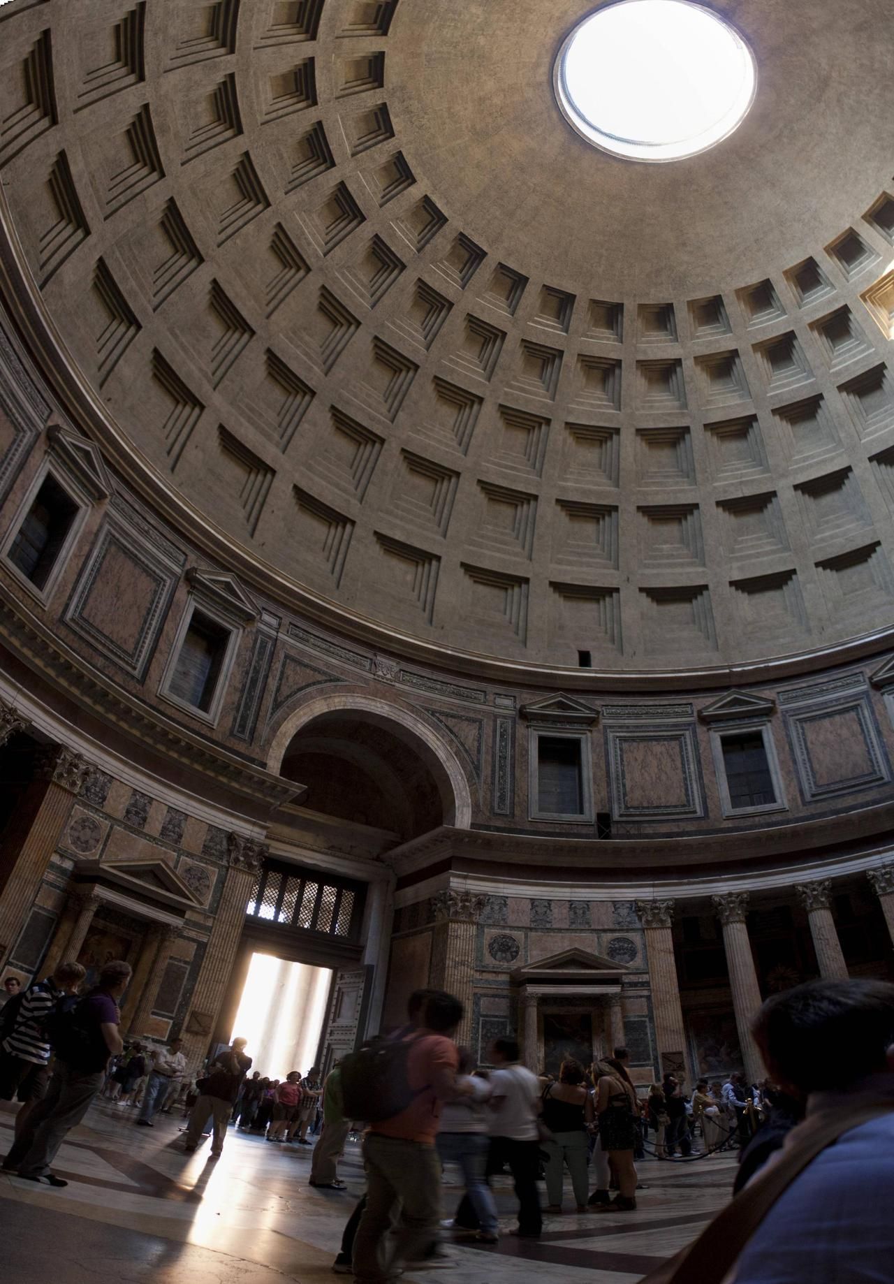 Inside the Pantheon, Rome Source: dirtyfries (reddit