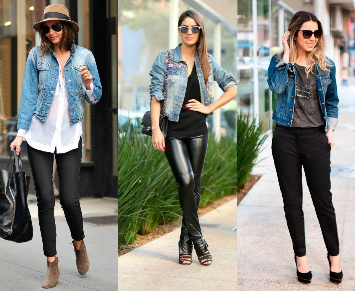 78331264e4432 Quer saber como montar looks incríveis com jaqueta jeans? Confira essas  dicas! #lookjaquetajeans