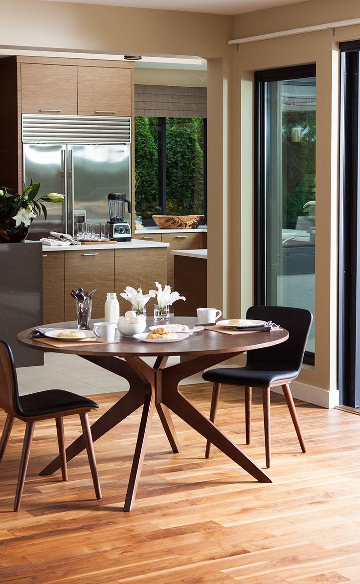 Conan Round Dining Table Modern Round Kitchen Table Modern