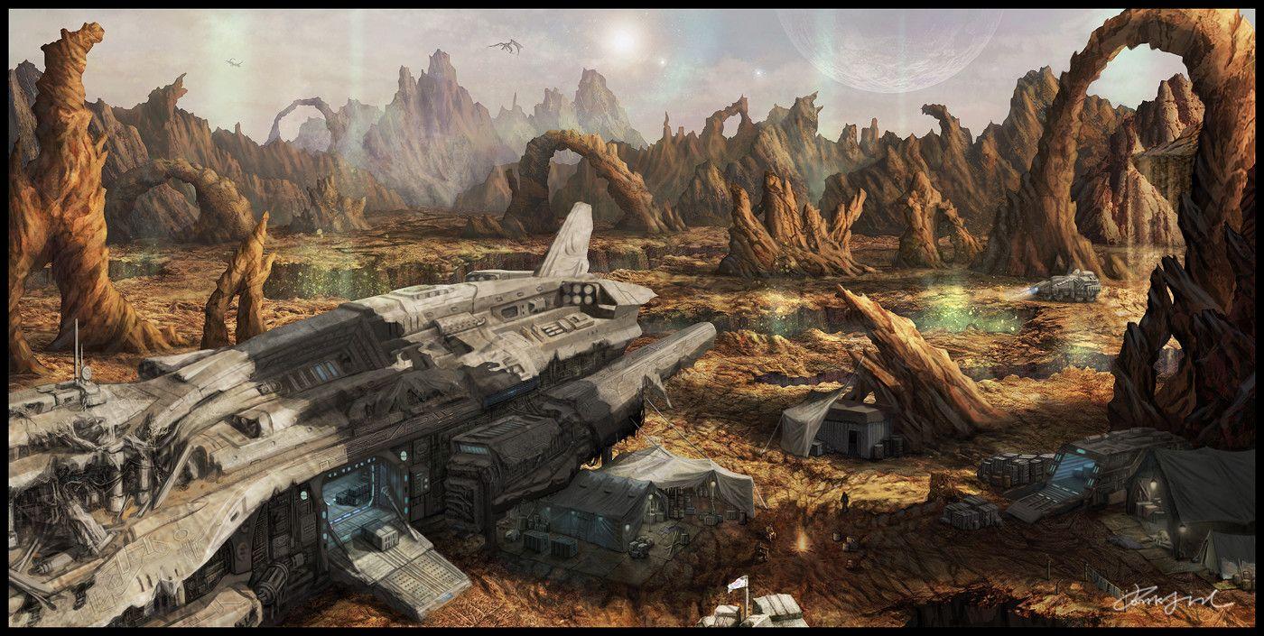 space ship crash - photo #18