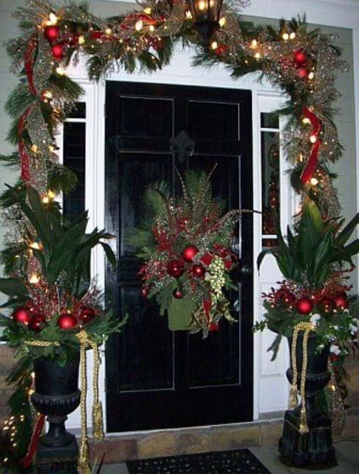 Ck and kennedy fine interiors christmas in new orleans for Deco entree exterieur