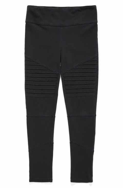 6f5be4f6411dc Tucker + Tate High Waist Moto Pants (Big Girls) | Nordstorm.com ...