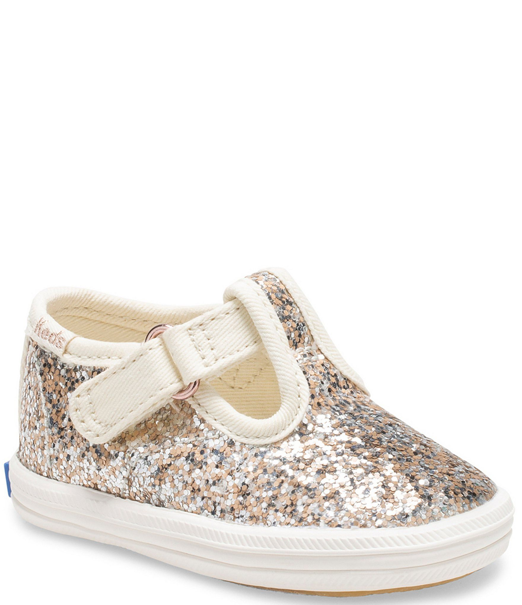 Strap Glitter Crib Shoes (Infant