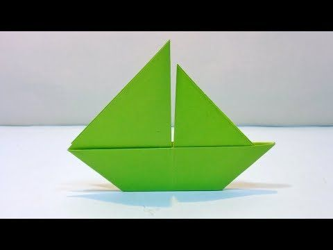 How to make a simple paper boat youtube