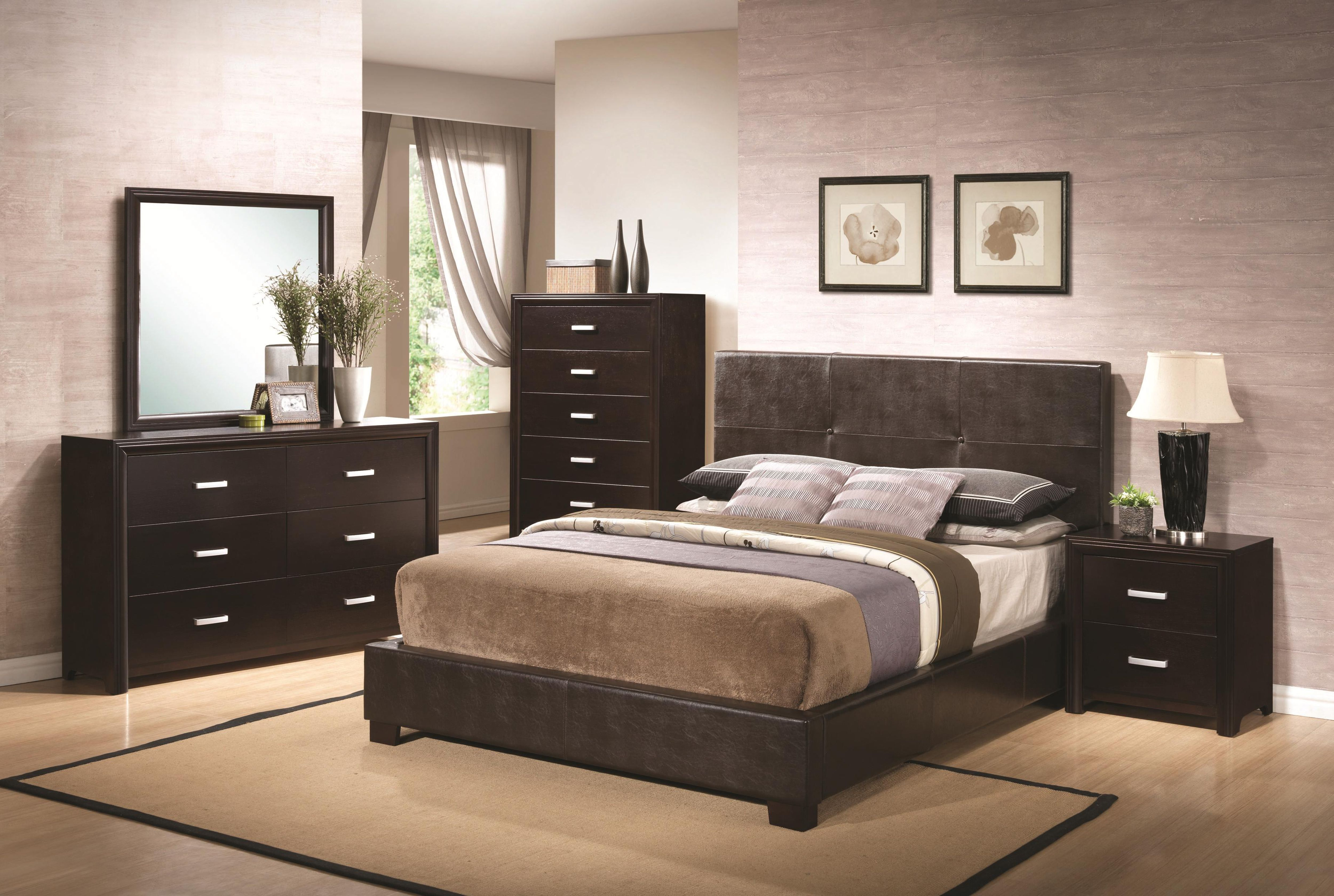 Bedroom decorating ideas dark brown furniture design ideas