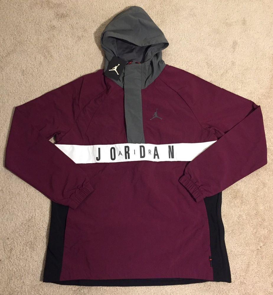 2dcae63adac Nike Air Jordan 942729-610 Wings Anarok Bordeaux Hooded Wind Jacket NEW  Men's #fashion #clothing #shoes #accessories #mensclothing #coatsjackets  (ebay link)