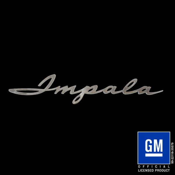 Impala 1961 Script Logo Script Logo Impala Script