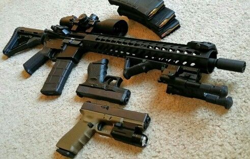 DPMS Oracle 5 56, DPMS Levang Linear Compensator, 15