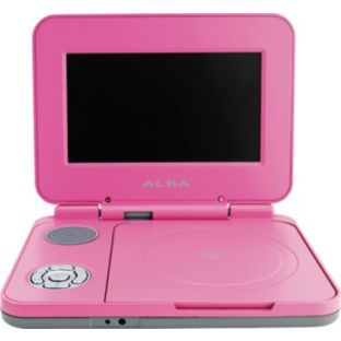 Alba 7 Inch Portable Dvd Player Pink At Argos Co Uk Your Online For Players