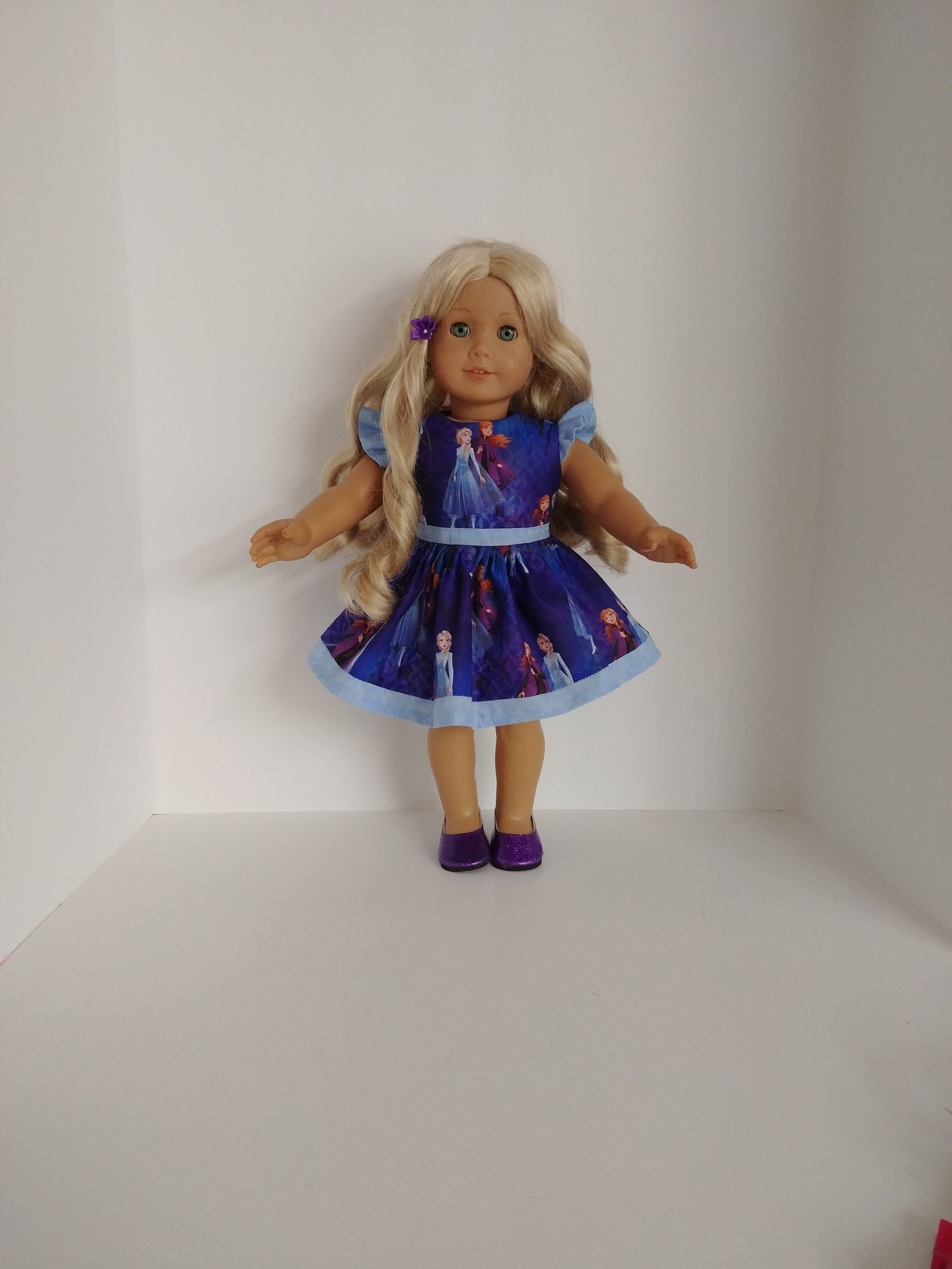 Frozen2 Ruffled Dress 18 inch doll clothes #18inchdollsandclothes