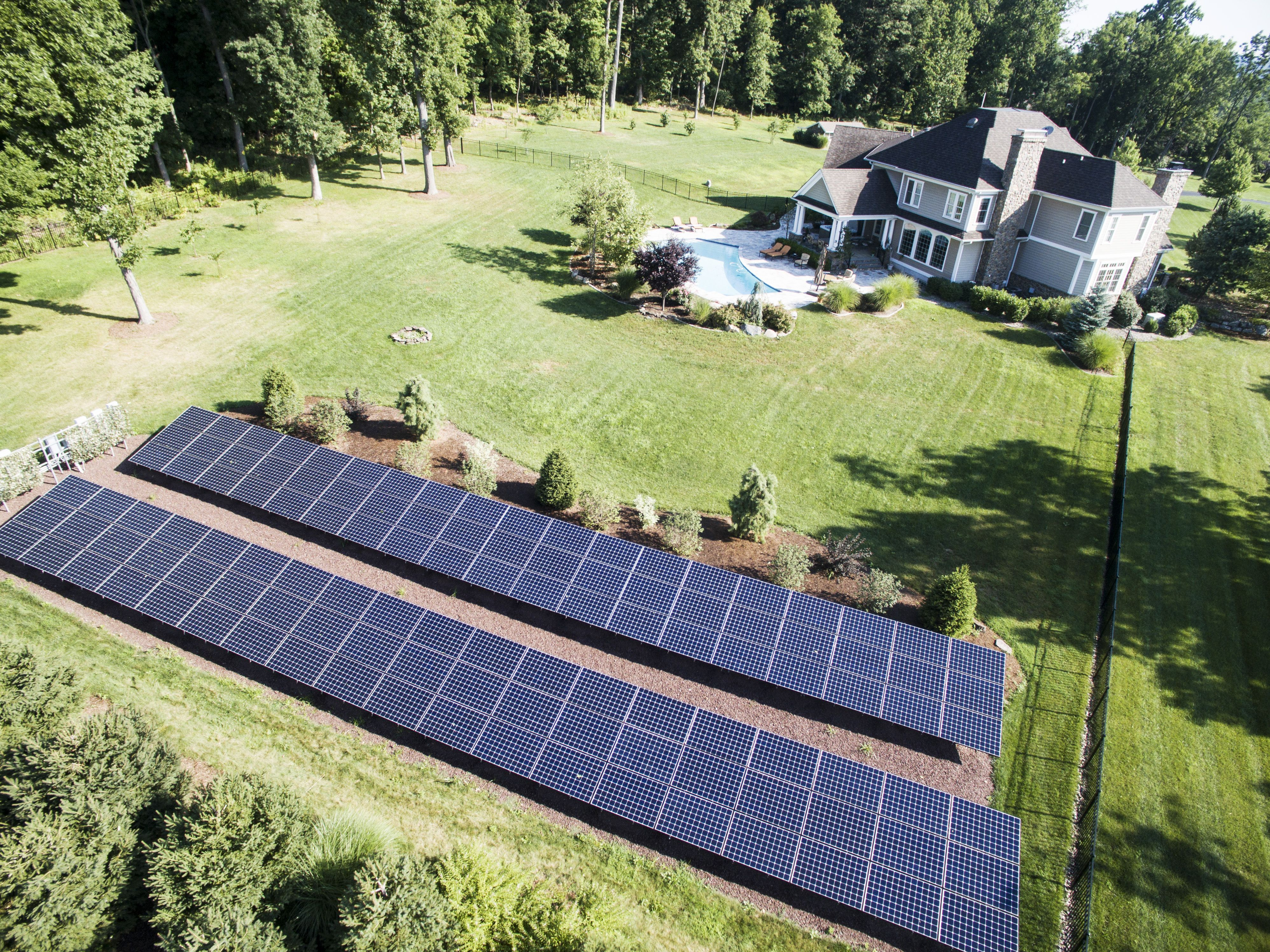 This rather large home in New Jersey is utility free