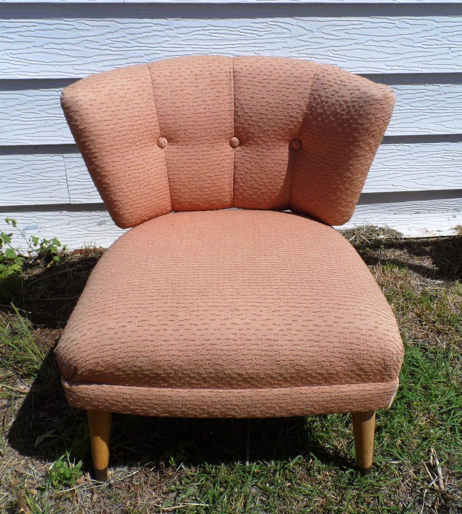 Kroehler Bedroom Furniture Vintage Kroehler Art Mid Century Modern 1950s Slipper Chair