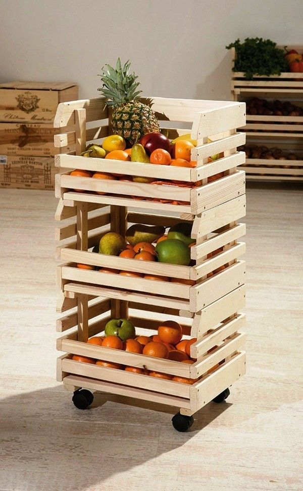 120 Holzkisten Deko-Ideen mit rustikalem Flair #idéesdemeubles