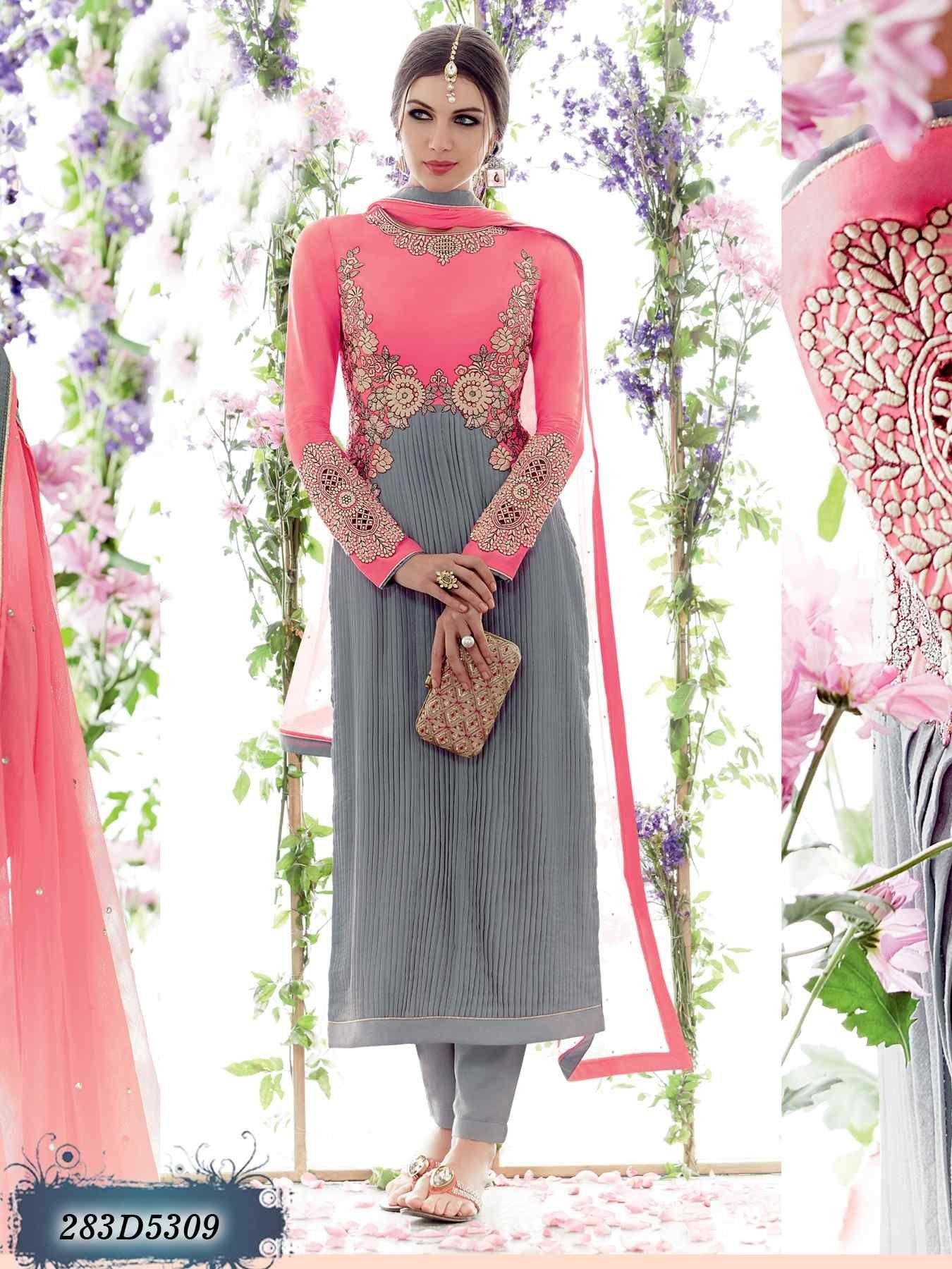 Designer Salwar Kameez Anarkali Suit Ethnic Bollywood Pakistanais Dupatta Parti KL