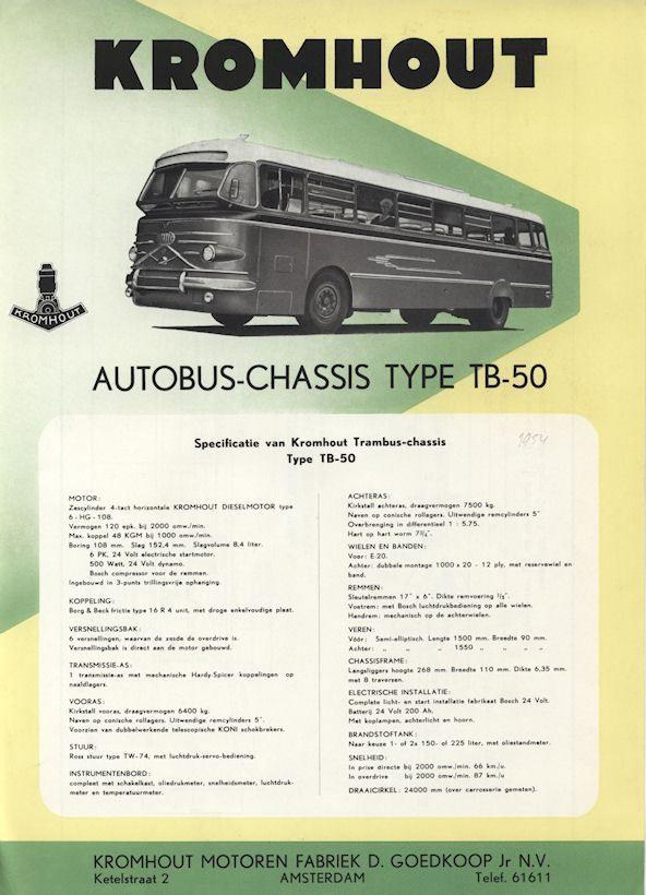 1952 Kromhout Type TB-50 | -♥ Autos ♥- | Pinterest | Classic ...