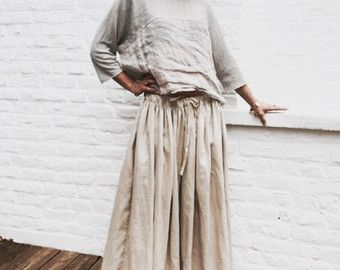 vêtements lin femme – Etsy FR   Vêtements et accessoires   Pinterest ... 8fcdf2289bd2