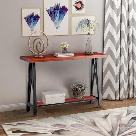Magnificent Harperbright Designs Accent Console Sofa Table For Entryway Bralicious Painted Fabric Chair Ideas Braliciousco