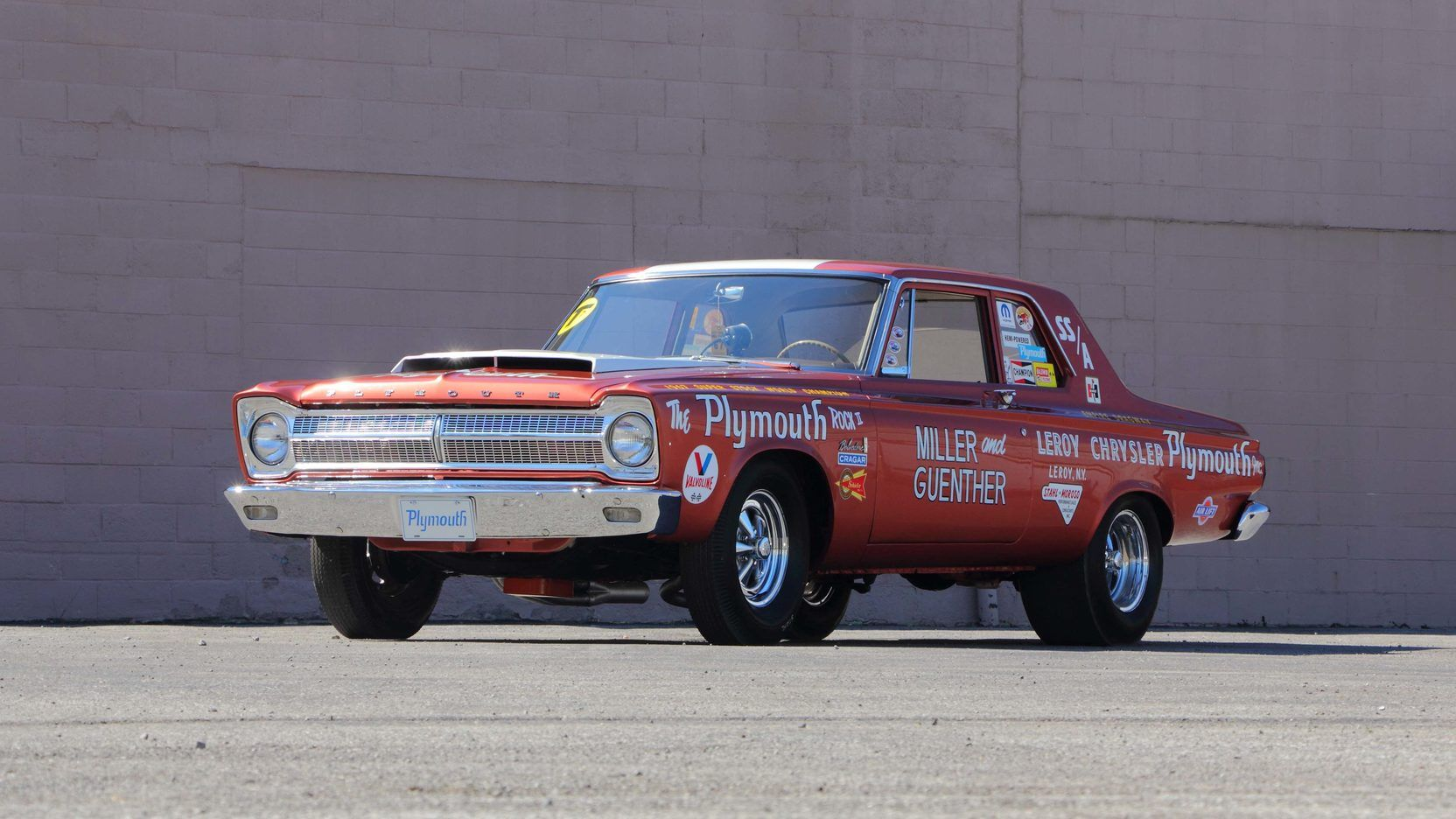 1965 Plymouth Belvedere A990 Lightweight Plymouth