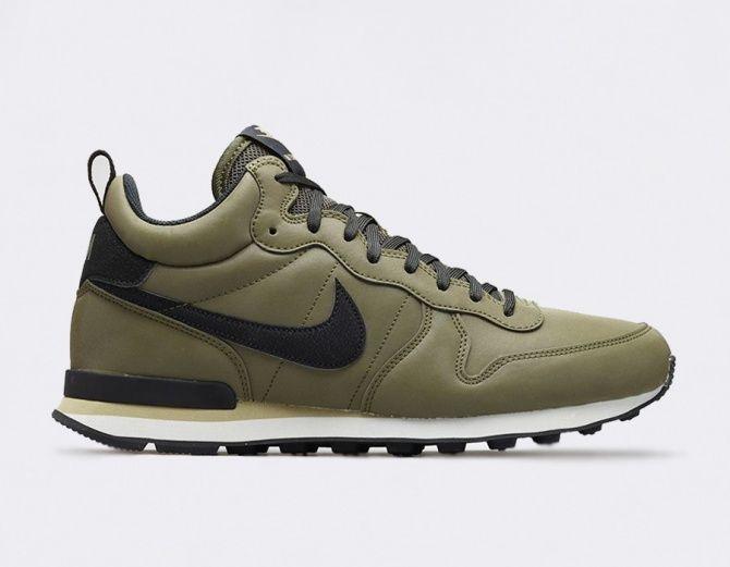 #Nike Internationalist Mid QS Khaki #sneakers