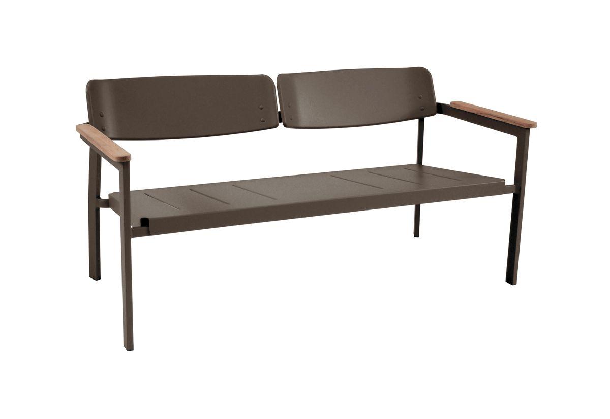 Sensational Shine 260 Exterior Two Seater Sofa Bench Solid Metal Ibusinesslaw Wood Chair Design Ideas Ibusinesslaworg