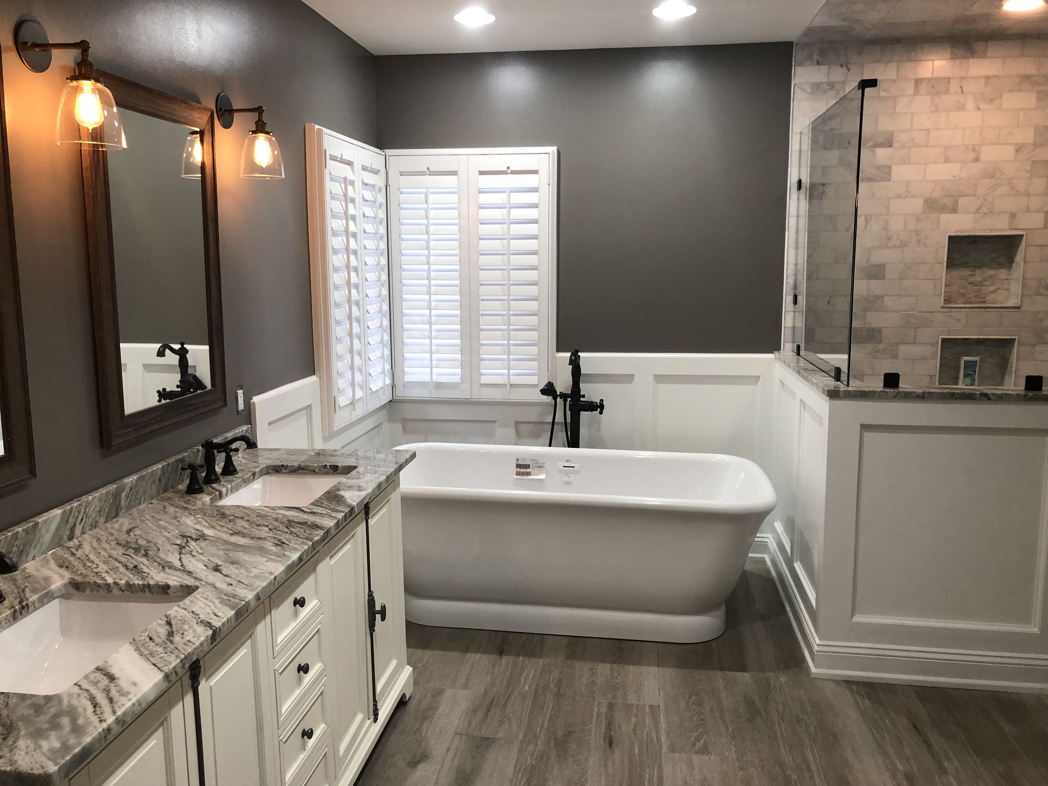 Look At Color Scheme And Tile Looking To Update Your Bathroom On