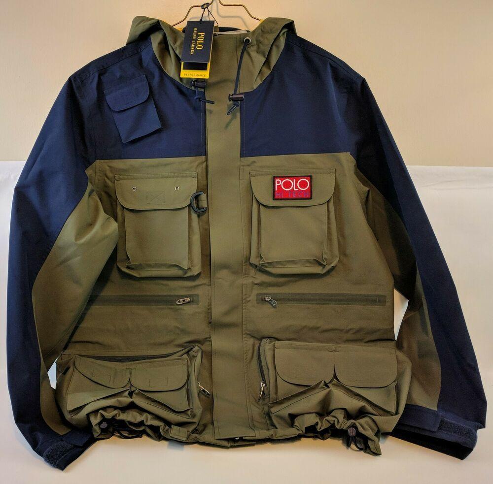 polo hi tech pullover jacket