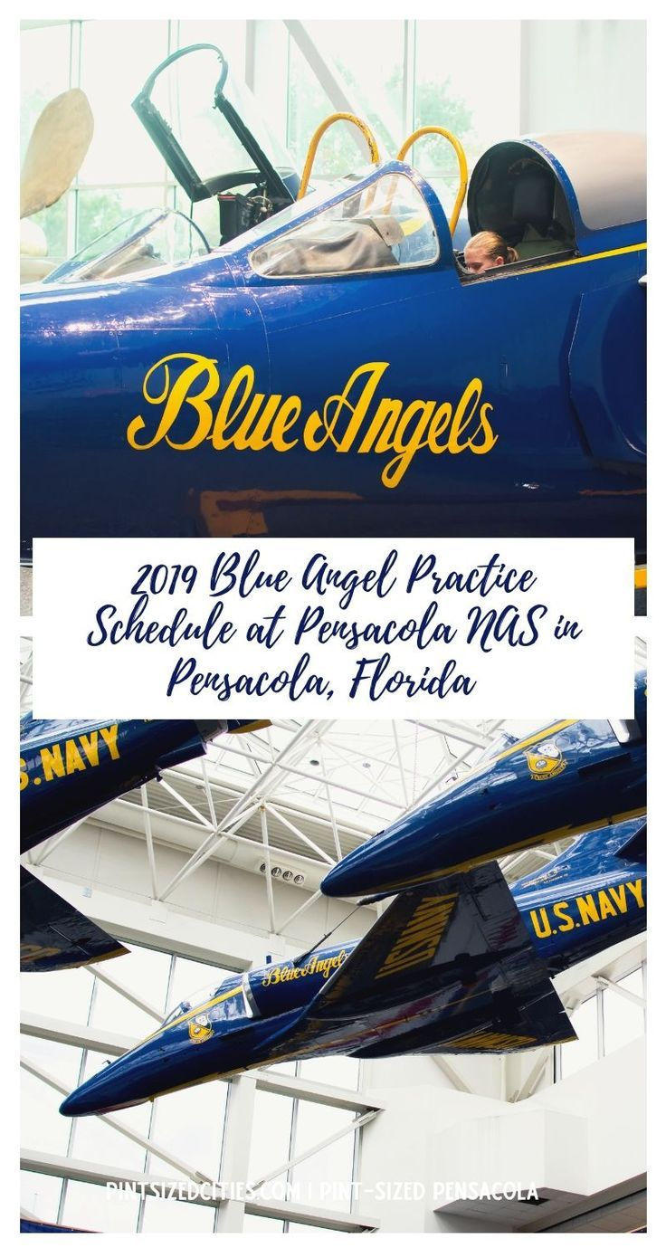 Blue Angels Practice Schedule at NAS Pensacola Blue