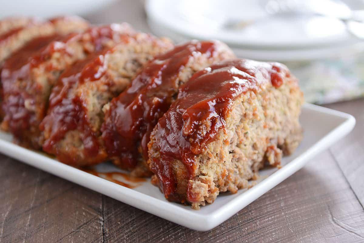 The Best Glazed Meatloaf Recipe Mel S Kitchen Cafe Recipe Meatloaf Glaze Recipes How To Cook Meatloaf