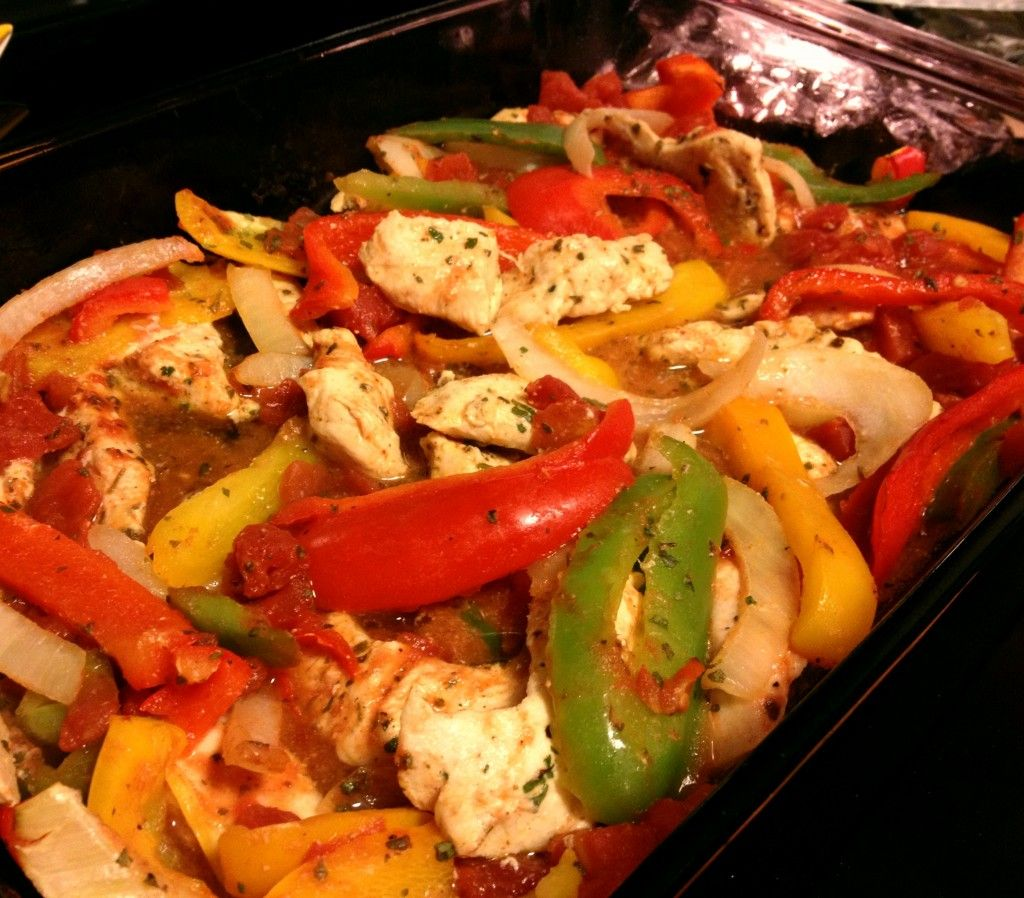 Baked Chicken Fajitas These Are Healthy Easy And Delicious