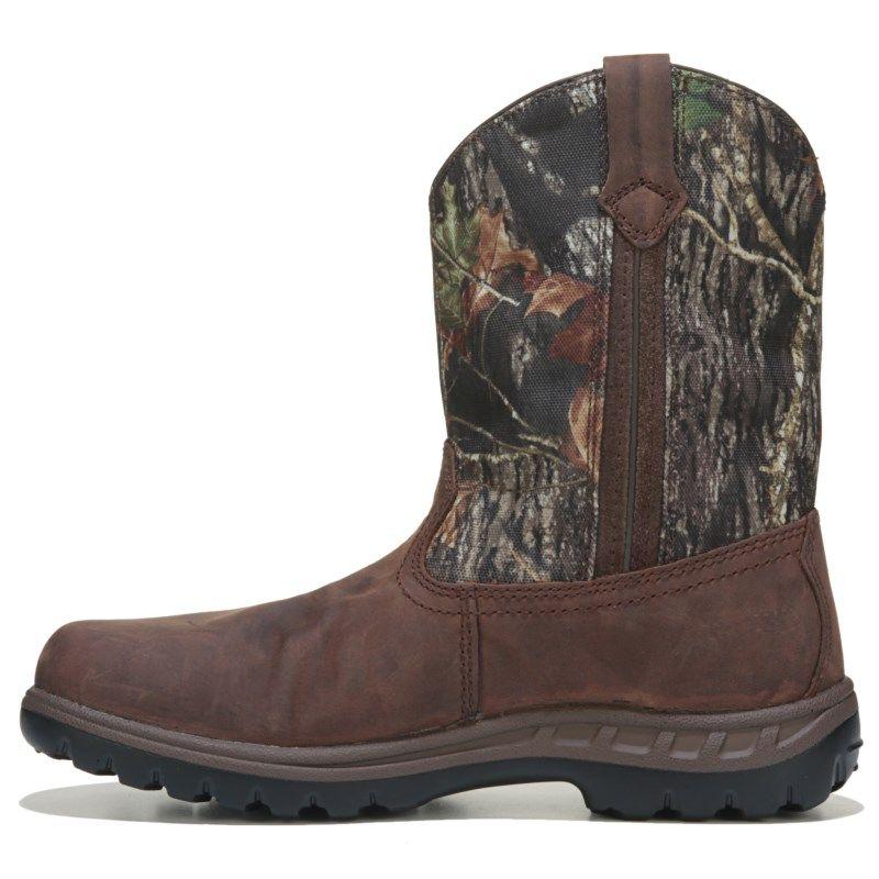 John Deere Kids' Waterproof Pull On Cowboy Boot Toddler/Preschool Boots ( Gaucho/Mossy)