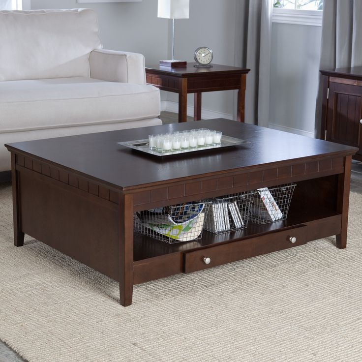 Coaster Coffee Table With Storage Drawers A Cocktail Table