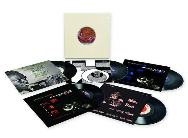 Miles Davis The Prestige 10 Inch Lp Collection Vol 2 Vinyl 5lp Boxset Record Store Day Miles Davis Lp Collection Vinyl Record Album Covers