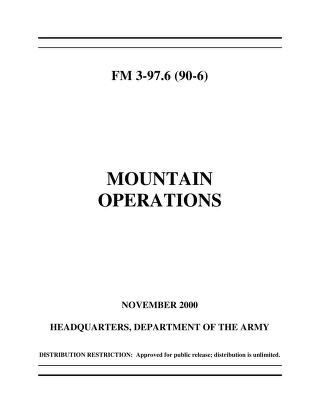 FM 3-97.6 Mountain Operations : Free Download, Borrow, and