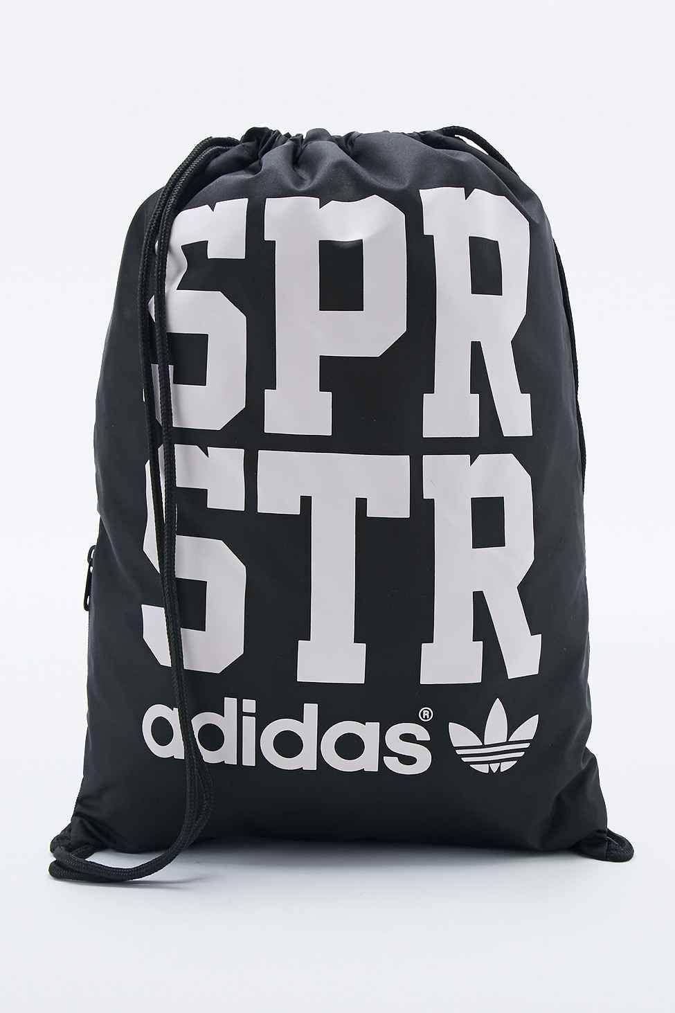 "3c8a6e2a1db11 adidas – Sportbeutel ""Superstar"" in Schwarz - buy it on fablife.de ..."